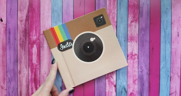 Создание настоящих книг из instagram
