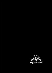 Обложка для инстакниги черная