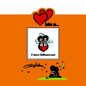Обложка для инстакниги Love is